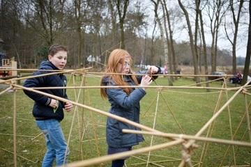 bamboestiek bouwen